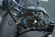 Офигенная кованая мебель