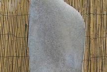 sculpture cailloux