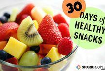 healthy snacks / by Shirley Carl