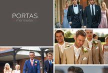 Portas menswear / Stylish men's suit hire