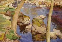 Morvan paintings