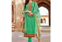 Latest designer salwar suits-chikankari salwar suits