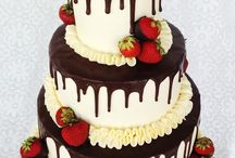 Bröllopstårta/desserter