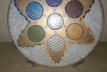 Mandala / Édesanyám által készített mandalák
