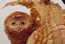 rzeżby / drewno art
