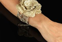 Handcrafted Crochet Jewellery / Handcrafted crochet jewelry designed by Contessina and made in Greece