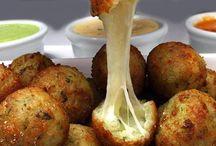 bolinho de batata com queijo