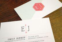 Business Cards / Design Ideas / by Monique Vu
