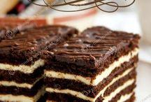Бисквитные торты
