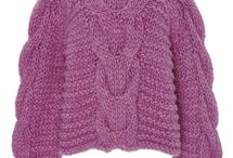 Moodboard fall knitwear