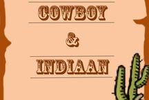 Themafeest Cowboy & Indiaan / Breng het wilde westen in huis. Stoere cowboy hoeden, sheriff hoeden, hoofdtooien en indianenveren staan garant voor een echte Western Party!