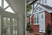 Adding a Porch / A small addition to your home that could provide a useful space for all that clutter in your hallway. Porches can also add kerb appeal to uninteresting house frontages & often do not require planning permission!