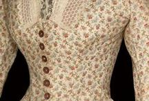 19th century: 1880s: Women's fashion / Extant garments from the 1880s.