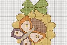 Idee per la casa a punto croce