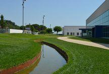 Un fiume in corten - Progetto per Melania Calzature
