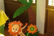 'decoración safari