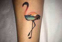 Tetovani flamingo