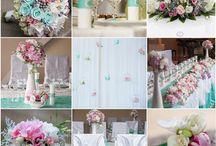 color combinations / Wedding color palette