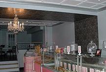 Lustres dans les magasins / Les lustres dans la décoration des magasins et lieux commerciaux... Nous créons pour vous tout luminaire  : www.i-lustres.com