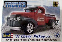 Truck Kits / Contains plastic model truck kits for sale at shorelinehobby.com.