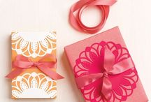 Doilies and gift wrapping