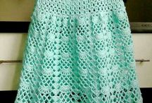 girls crochet dresses