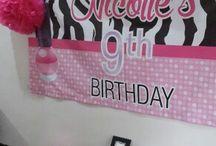 "Nicolle's 9th ""Nail Polish"" Birthday Party"
