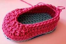 zapatos de ganchill