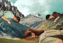 Julien Pacaud Collages - level 2