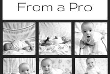 DIY Baby Photos / Tips and inspiration for DIY baby photography!