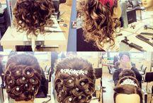My work / Level 1 hair student