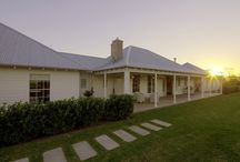 Country farm houses