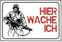 Schilder / Warnschilder / Schilder / Warnschilder / mehr Infos auf: www.Guntia-Militaria-Shop.de