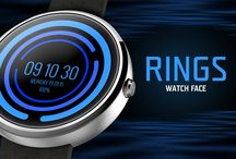 Rings Interactive Watch Face / Third #bestwatchface is Rings - interactive Watch Face!