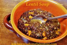 Lentil Soup / Lentil soup kitchen wisdom gluten free http://kitchenwisdomglutenfree.com/2015/01/13/lentil-soup-gluten-free-forget-what-you-know-about-wheatc-2015/