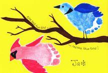 hand & feet art