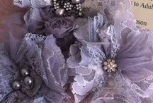 shabby shic flower art