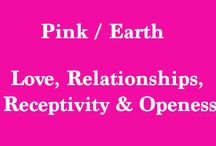 Vision Visualization Board Pink Earth / Vision Visualization Board Pink Earth  - Love, Relationships, Receptivity, and Openess