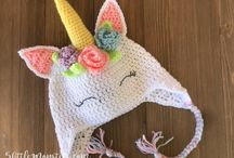 baby  and childrens crochet  hats