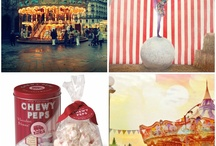 Circus and Carnival Lust / Ferris wheels, striped tents, sideshow acts, ornate fonts... I have a love affair for anything circus or carnival.... I'm a gypsy at heart, and these images fulfill a bit of my wanderlust.
