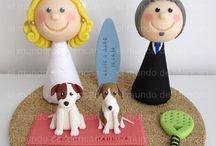 Figuritas personalizadas Novios