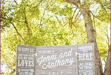 wedding photo zone idea
