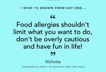 Spokin Wisdom / Tips and Quotes for people with food allergies