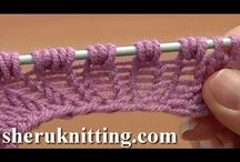 videonávody vzory ručního pletení