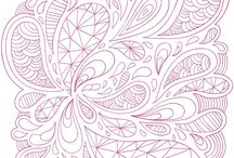 Coloring pages / by Ashley Mykel