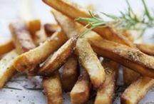 frites de courgettes  au thym  et parmesan