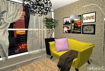 Projetos / Meus projetos em 3D de Design de Interiores