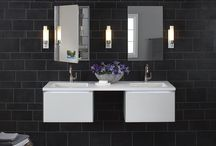 Bathroom Cabinets / The right bathroom fixtures will tie together all aspects of a bathroom. Not only will each piece compliment other fixtures, but it will provide a specific function that will work with the room as a whole.