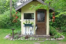 Garden Sheds / Garden sheds, greenhouses, and conservatories.