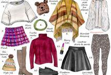 Clothe layouts